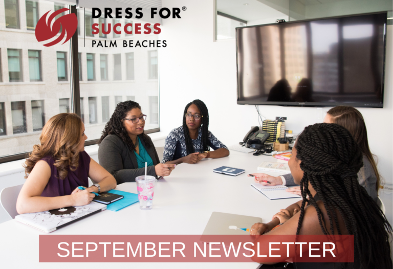 September Newsletter – Featuring our next Shop for Success Sale!